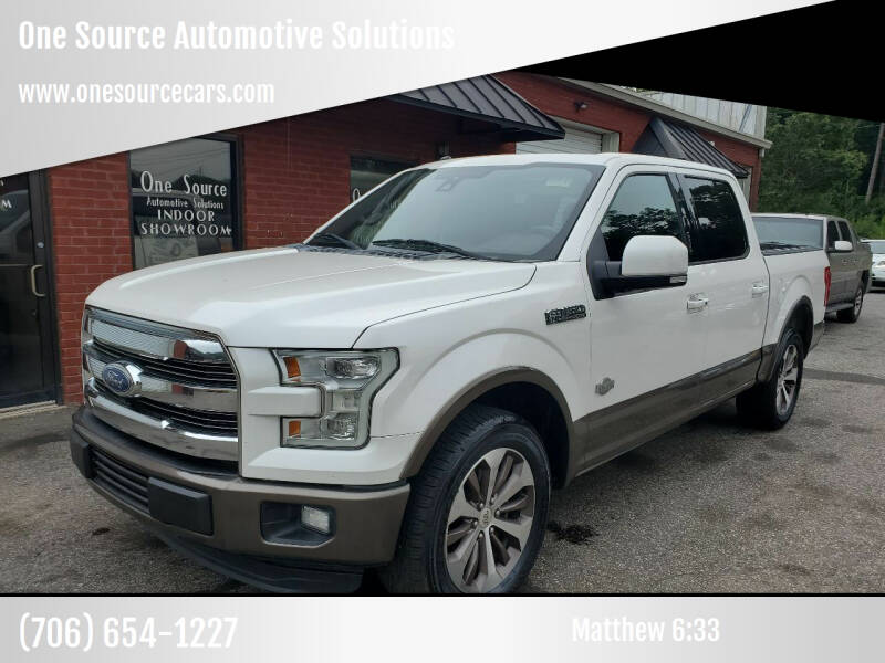 2016 Ford F-150 for sale at One Source Automotive Solutions in Braselton GA