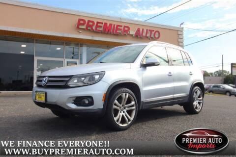 2013 Volkswagen Tiguan for sale at PREMIER AUTO IMPORTS - Temple Hills Location in Temple Hills MD