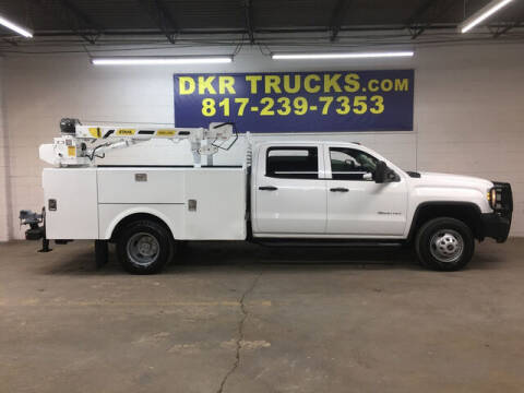 2015 GMC Sierra 3500HD for sale at DKR Trucks in Arlington TX