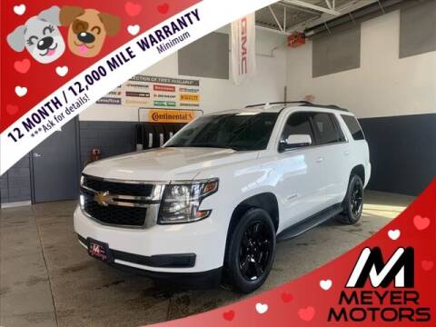 2018 Chevrolet Tahoe for sale at Meyer Motors in Plymouth WI