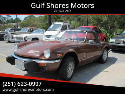 1978 Triumph Spitfire for sale at Gulf Shores Motors in Gulf Shores AL