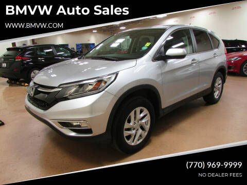 2015 Honda CR-V for sale at BMVW Auto Sales in Union City GA