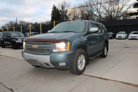 2008 Chevrolet Tahoe for sale at F & M AUTO SALES in Detroit MI