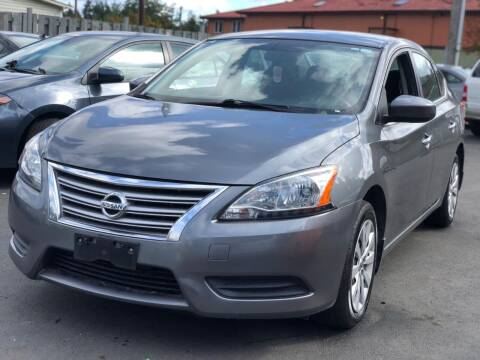 2015 Nissan Sentra for sale at ALHAMADANI AUTO SALES in Spanaway WA