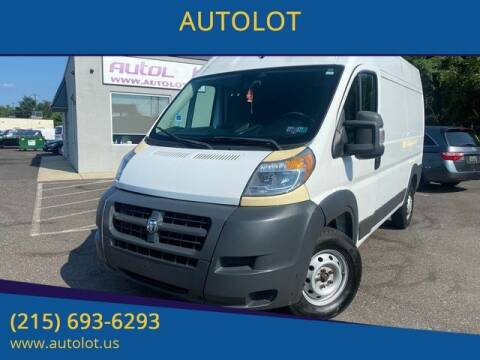 2014 RAM ProMaster Cargo for sale at AUTOLOT in Bristol PA
