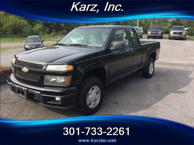 2008 Chevrolet Colorado for sale at Karz INC in Funkstown MD