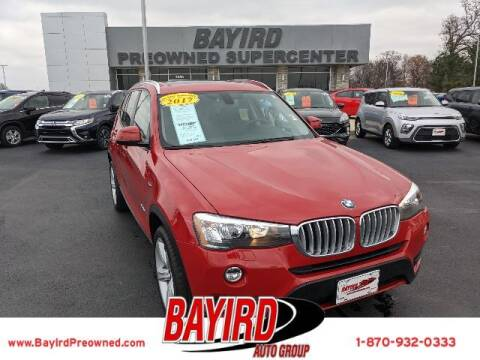 2017 BMW X3 for sale at Bayird Truck Center in Paragould AR