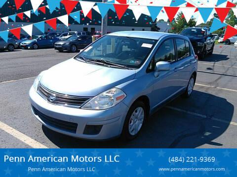 2011 Nissan Versa for sale at Penn American Motors LLC in Allentown PA