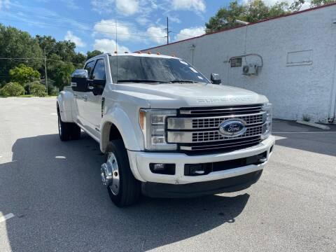 2017 Ford F-450 Super Duty for sale at Consumer Auto Credit in Tampa FL