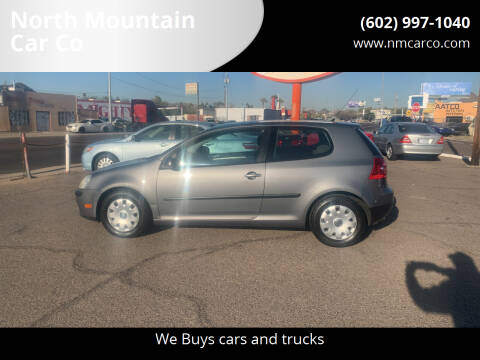 2009 Volkswagen Rabbit for sale at North Mountain Car Co in Phoenix AZ