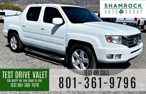 2012 Honda Ridgeline for sale at Shamrock Group LLC #1 in Pleasant Grove UT