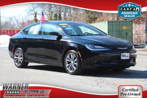 2015 Chrysler 200 for sale at Warner Motors in East Orange NJ