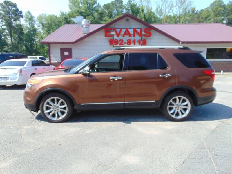2011 Ford Explorer for sale at Evans Motors Inc in Little Rock AR