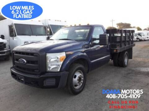 2011 Ford F-350 Super Duty for sale at DOABA Motors - Flatbeds in San Jose CA