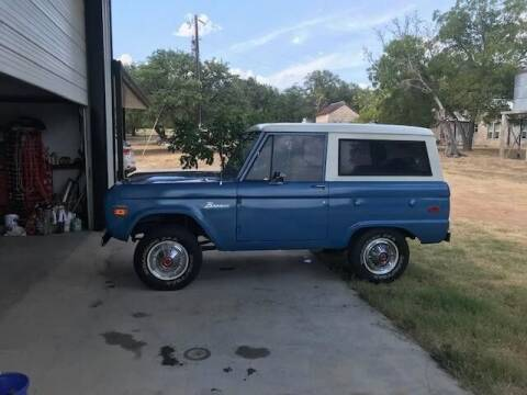 1970 Ford Bronco for sale at CarsBikesBoats.com in Round Mountain TX