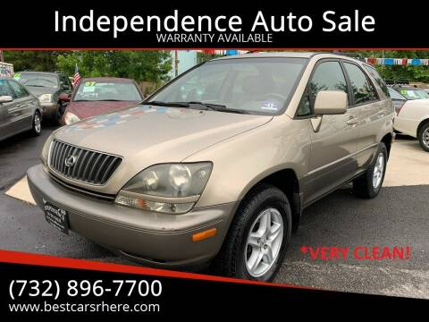 1999 Lexus RX 300 for sale at Independence Auto Sale in Bordentown NJ