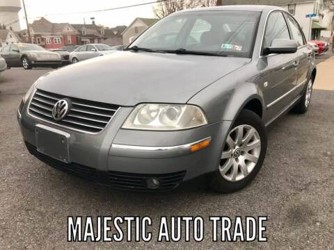 2002 Volkswagen Passat for sale at Majestic Auto Trade in Easton PA
