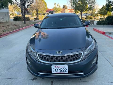 2014 Kia Optima Hybrid for sale at Faith Auto Sales in Temecula CA