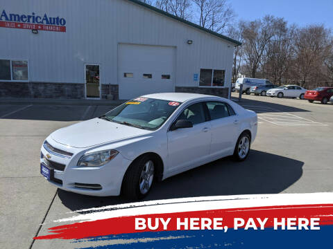 2012 Chevrolet Malibu for sale at AmericAuto in Des Moines IA