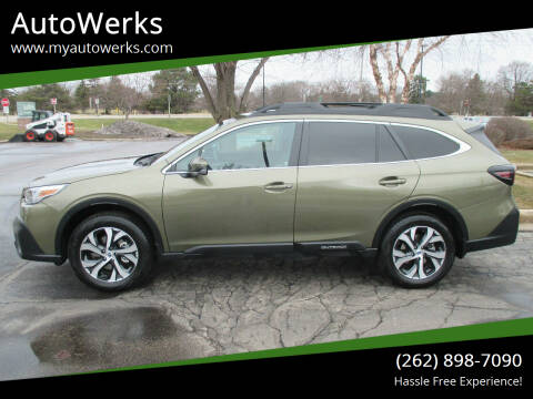 2020 Subaru Outback for sale at AutoWerks in Sturtevant WI
