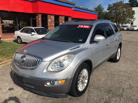 2011 Buick Enclave for sale at HW Auto Wholesale in Norfolk VA