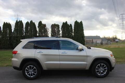2014 Jeep Grand Cherokee for sale at D & B Auto Sales LLC in Washington Township MI