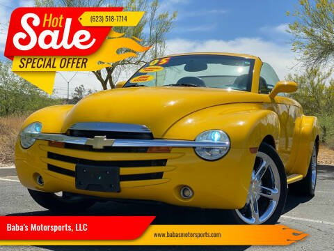2005 Chevrolet SSR for sale at Baba's Motorsports, LLC in Phoenix AZ