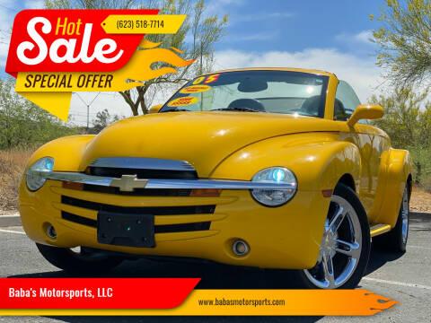 2005 Chevrolet SSR for sale at Baba's Motorsports, LLC in Phoenix AZ