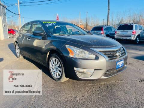2013 Nissan Altima for sale at Transportation Center Of Western New York in Niagara Falls NY