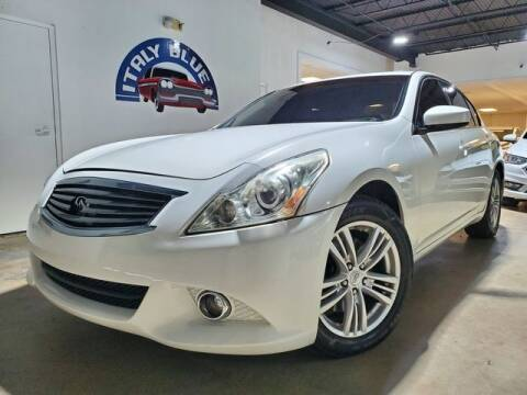 2013 Infiniti G37 Sedan for sale at Italy Blue Auto Sales llc in Miami FL