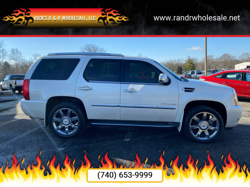 2010 Cadillac Escalade for sale at Rick's R & R Wholesale, LLC in Lancaster OH