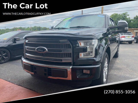 2016 Ford F-150 for sale at The Car Lot in Radcliff KY