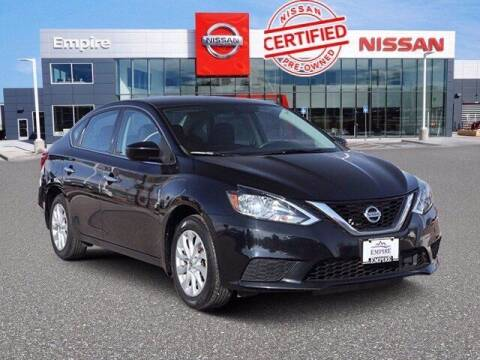 2018 Nissan Sentra for sale at EMPIRE LAKEWOOD NISSAN in Lakewood CO
