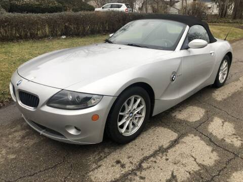 2005 BMW Z4 for sale at Urban Motors llc. in Columbus OH