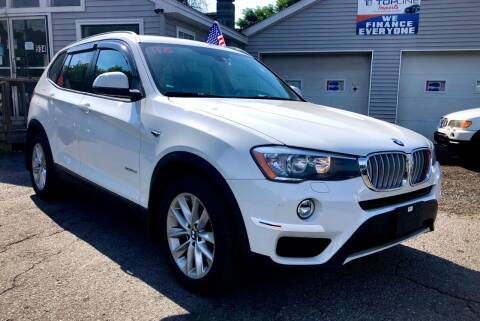 2017 BMW X3 for sale at Top Line Import in Haverhill MA