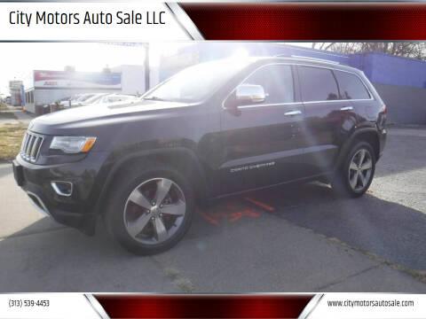2014 Jeep Grand Cherokee for sale at City Motors Auto Sale LLC in Redford MI