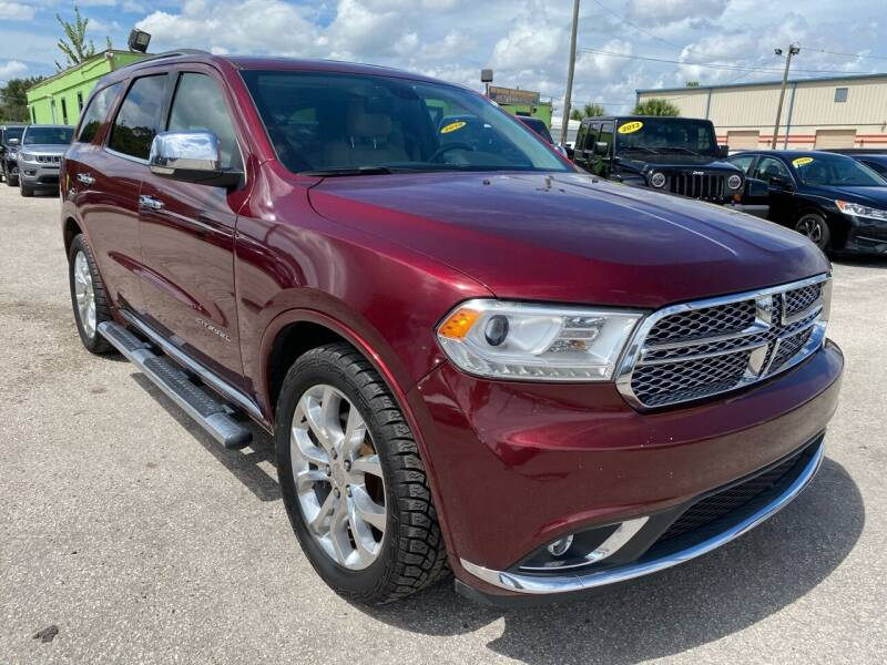 2016 Dodge Durango for sale at Marvin Motors in Kissimmee FL