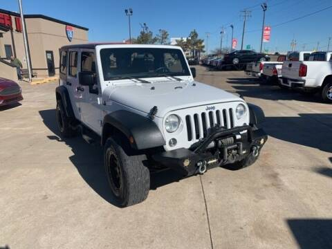 2013 Jeep Wrangler Unlimited for sale at Bryans Car Corner in Chickasha OK