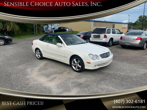 2005 Mercedes-Benz CLK for sale at Sensible Choice Auto Sales, Inc. in Longwood FL