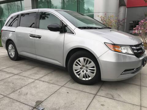 2015 Honda Odyssey for sale at Top Motors in San Jose CA