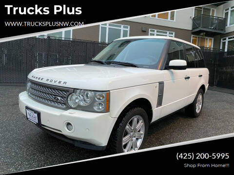 2008 Land Rover Range Rover for sale at Trucks Plus in Seattle WA