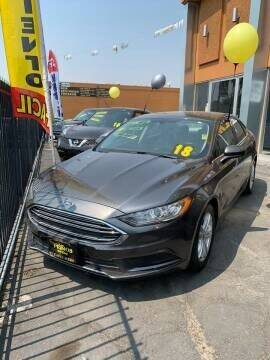 2018 Ford Fusion for sale at Los Primos Auto Plaza in Antioch CA