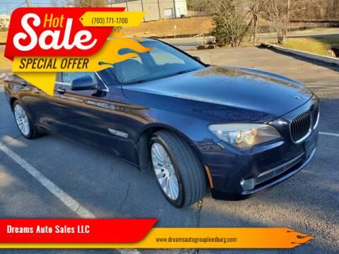 2012 BMW 7 Series for sale at Dreams Auto Sales LLC in Leesburg VA