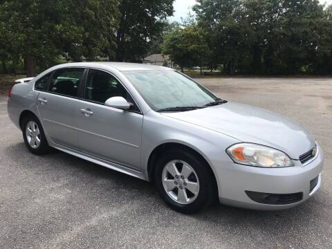 2010 Chevrolet Impala for sale at Cherry Motors in Greenville SC