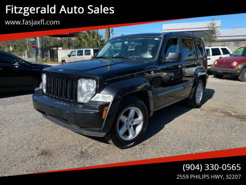 2009 Jeep Liberty for sale at Fitzgerald Auto Sales in Jacksonville FL