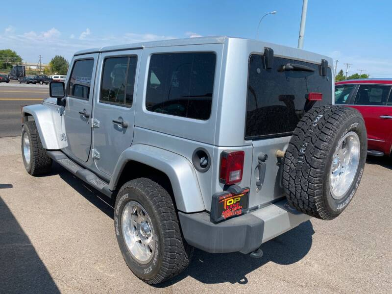 2011 Jeep Wrangler Unlimited 4x4 Sahara 4dr SUV - Idaho Falls ID