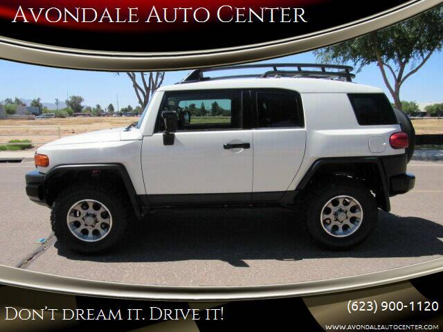 2012 Toyota FJ Cruiser for sale at Avondale Auto Center in Avondale AZ