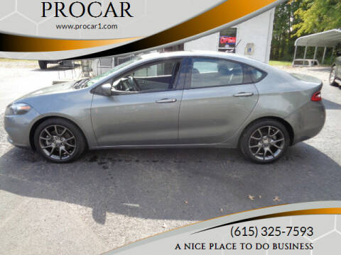 2013 Dodge Dart for sale at PROCAR in Portland TN