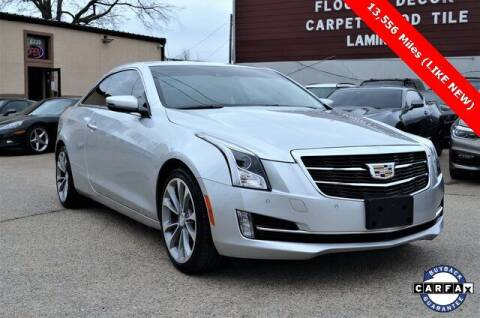 2015 Cadillac ATS for sale at LAKESIDE MOTORS, INC. in Sachse TX
