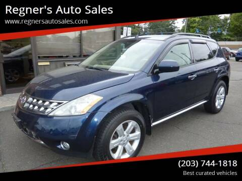 2007 Nissan Murano for sale at Regner's Auto Sales in Danbury CT
